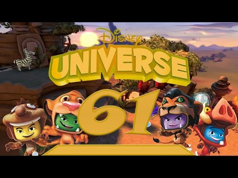 The Lion King: Part 1 | Let's Play Disney Universe #61 | 100% Walkthrough HD 60FPS