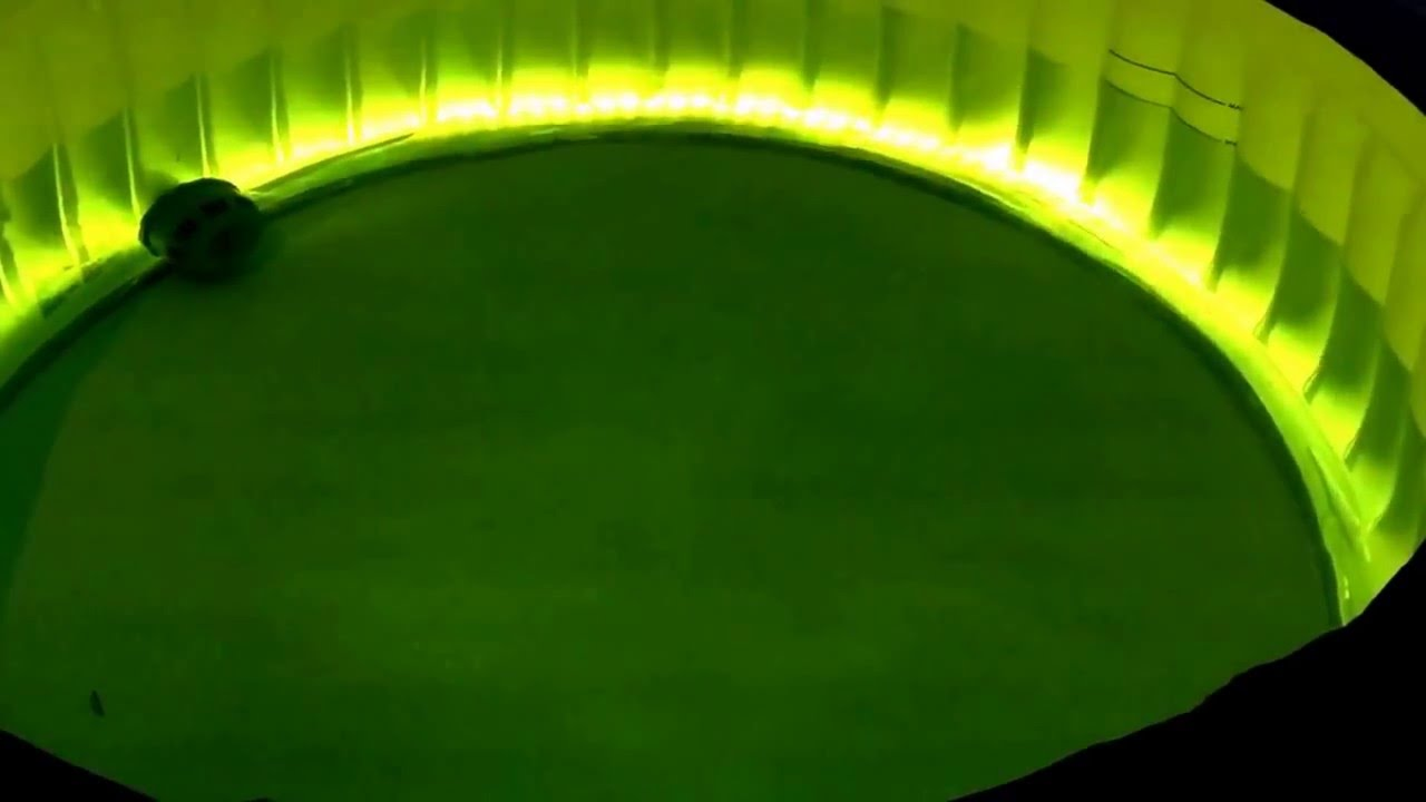 Lay-Z-Spa LED hot tub - YouTube