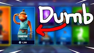 The FishStick Skin... tf - Fortnite Daily Reset NEW Items in Item Shop