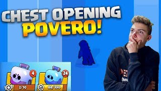 BOX OPENING (NO GEMMING) PIU' POVERO DI YOUTUBE - Brawl stars