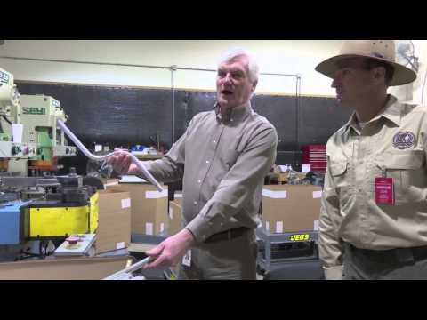 A Tour of the Garrett Metal Detectors Factory, Garland, Texas.