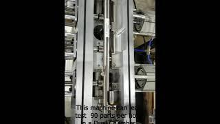 Fuel Rails: Hard Vac Tracer Gas Leak Test