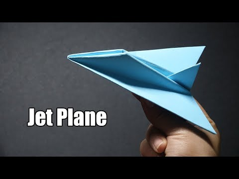 How to make a Paper Jet Plane model | EASY Origami A4 Paper Airplanes