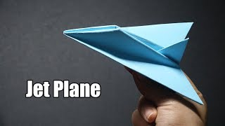 How to make a Paper Jet Plane model   EASY Origami A4 Paper Airplanes