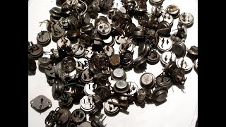 Аффинаж транзисторов  кт 803 кт808 кт 908  100 штук