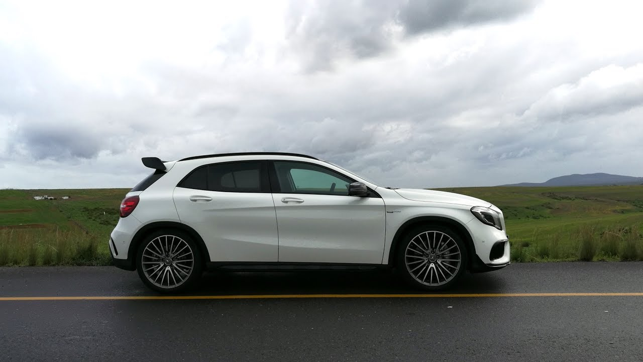 Mercedes Amg Gla 45 4matic 2017 Open Roads Are Meant To Be Enjoyed