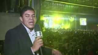 Rapper Pitbull faz show em Olinda