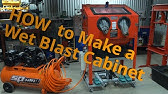 DIY Vapor Blaster Cabinet Tutorial Harbor Freight $960 - YouTube