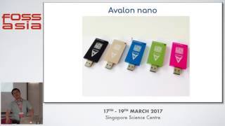 Blockchain Software for Hardware: The Canaan AvalonMiner Open Source Embedded System - FOSSASIA 2017