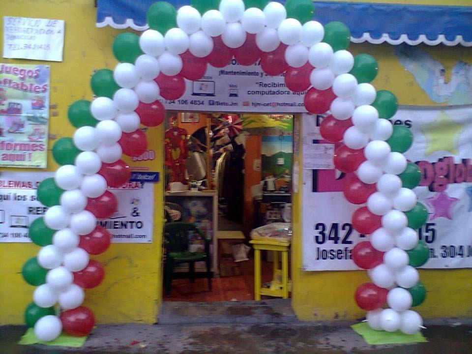 Arco Con Globos Tricolor Tricolour Balloon Arch Youtube