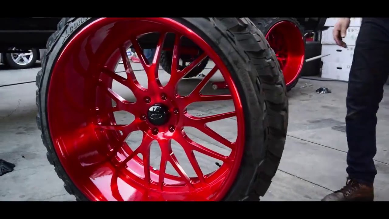 Jeep Wrangler Interior >> Z71 on 26x14 Intro Wheels 💪 - YouTube