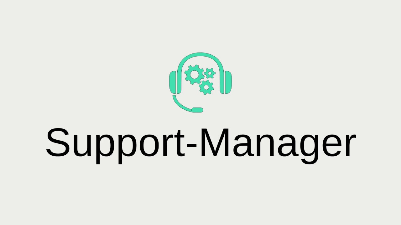 Support-Manager | Discord bot (rework)