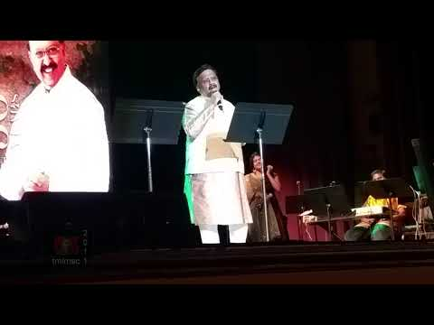 SPB 50 World Tour, Detroit - S. P. B. Sings Mix Of Songs In Several Languages