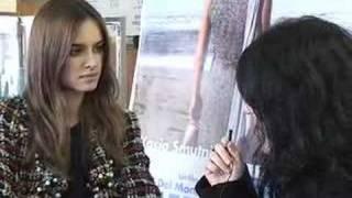 """Http://www.rbcasting.comkasia smutniak intervista per rb casting il film """"nelle tue mani"""" regia di peter del monte. roma 05 marzo 2008 05/03/2008"""