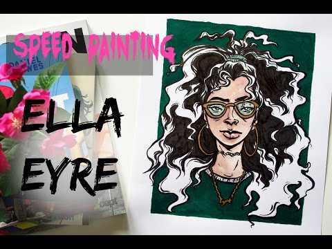 Ella Eyre Painting Process Video · Painting People · SemiSkimmedMin