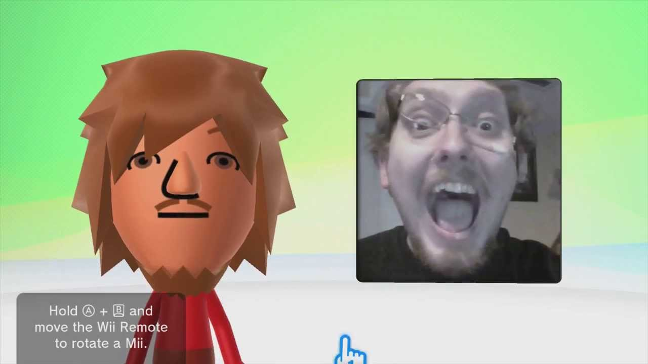 Let us play wii u mii maker fear our faces youtube
