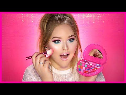 Thumbnail: FULL FACE USING ONLY KIDS MAKEUP Challenge | NikkieTutorials