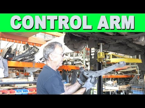 How to Remove and Replace a Lower Control Arm – 2003 Acura MDX