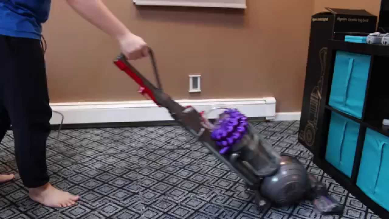 Dyson Cinetic Big Ball Animal Vacuum Cleaner Testing Is
