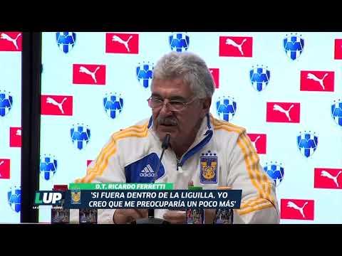 """""""No fuimos el equipo que debemos ser"""": Ricardo Ferretti"""