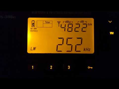 252 kHz (AM sobre LW) RTE Radio One
