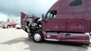 "2012 Kenworth T700 75"" sleeper for sale stock #319191"