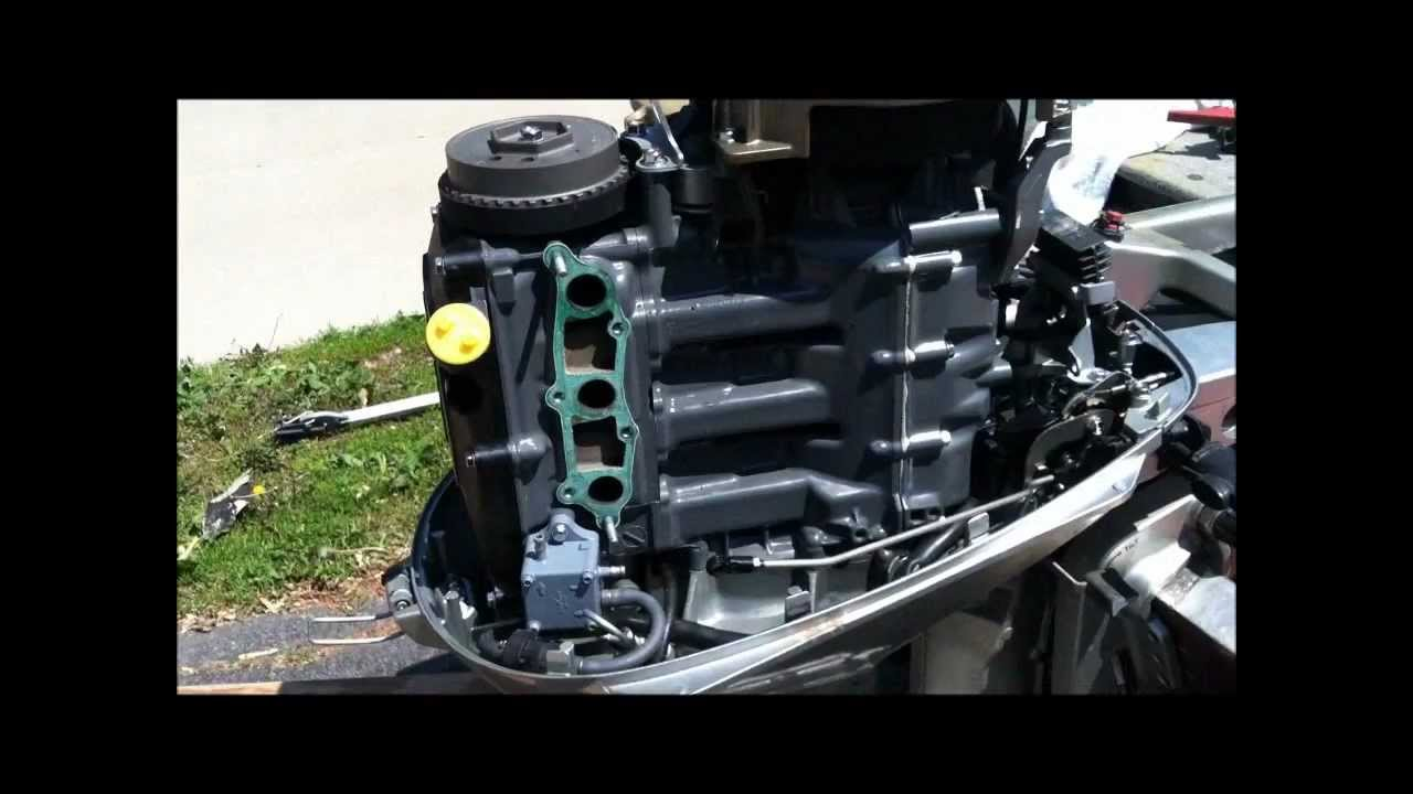 Honda 4 Stroke boat motor carb cleaning class YouTube – Diagram Of Outboard Engine