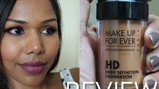 MUFE HD foundation shade 173 review Thumbnail