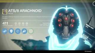 Destiny Jäger ATS/8 Arachnoid / exotischer Helm