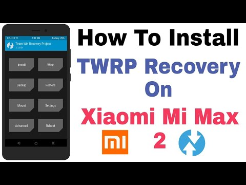Xiaomi Mi Max 2 - How To Install TWRP Recovery On Mi Max 2 - Самые