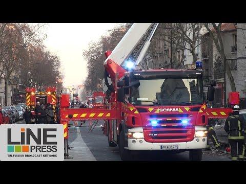 Explosion d'immeuble par fuite de gaz / Boulogne-Billancourt (92) - France 20 janvier 2017