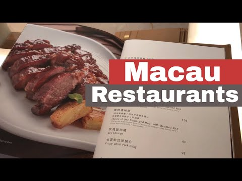 Super cheap restaurants in Macau China | The best food in Macau