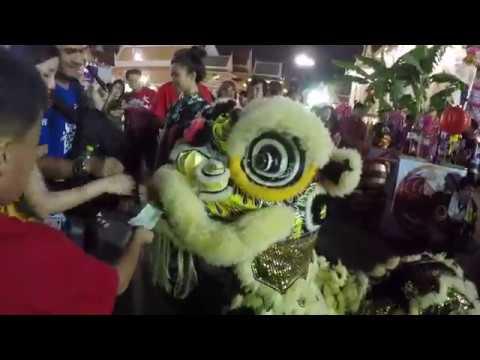 Chinese New Year 2019 Lion & Dragon Dance at Wat Traimit in Bangkok