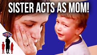 Mother Gives Up Trying To Put Screaming Child To Bed - Supernanny US