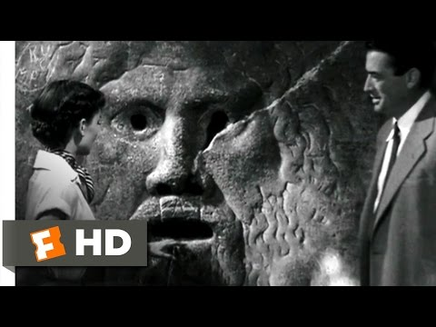 Roman Holiday (2/10) Movie CLIP - The Mouth of Truth (1953) HD