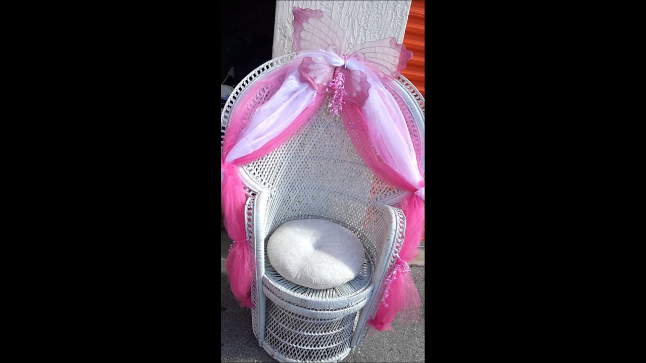 Baby Shower Chair on Party Rentals( Free Chair in any packages ...