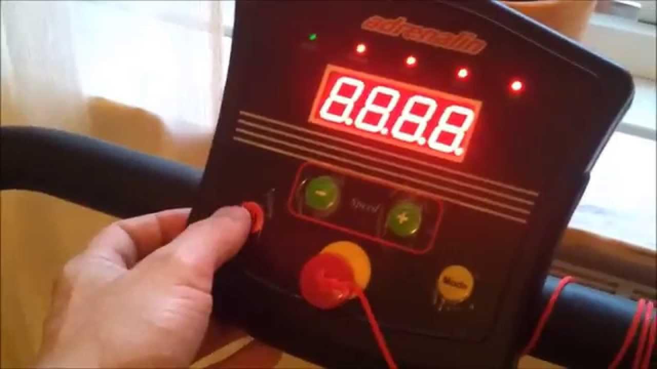 Attraktiva Adrenalin - Löpband från RUSTA - YouTube IJ-38