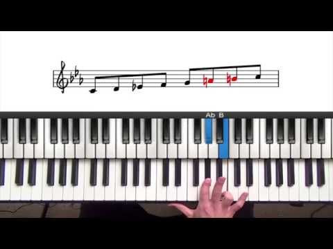 Minor Scales | Beginner Jazz Piano Lesson