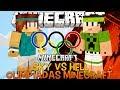 Olimpíadas Minecraft Ep.1 Sky vs Hell