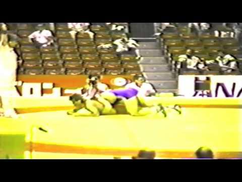 1990 Senior World Championships: 74 kg Krzysztof Walencik (POL) vs. Claudiu Tamaduianu (ROU)