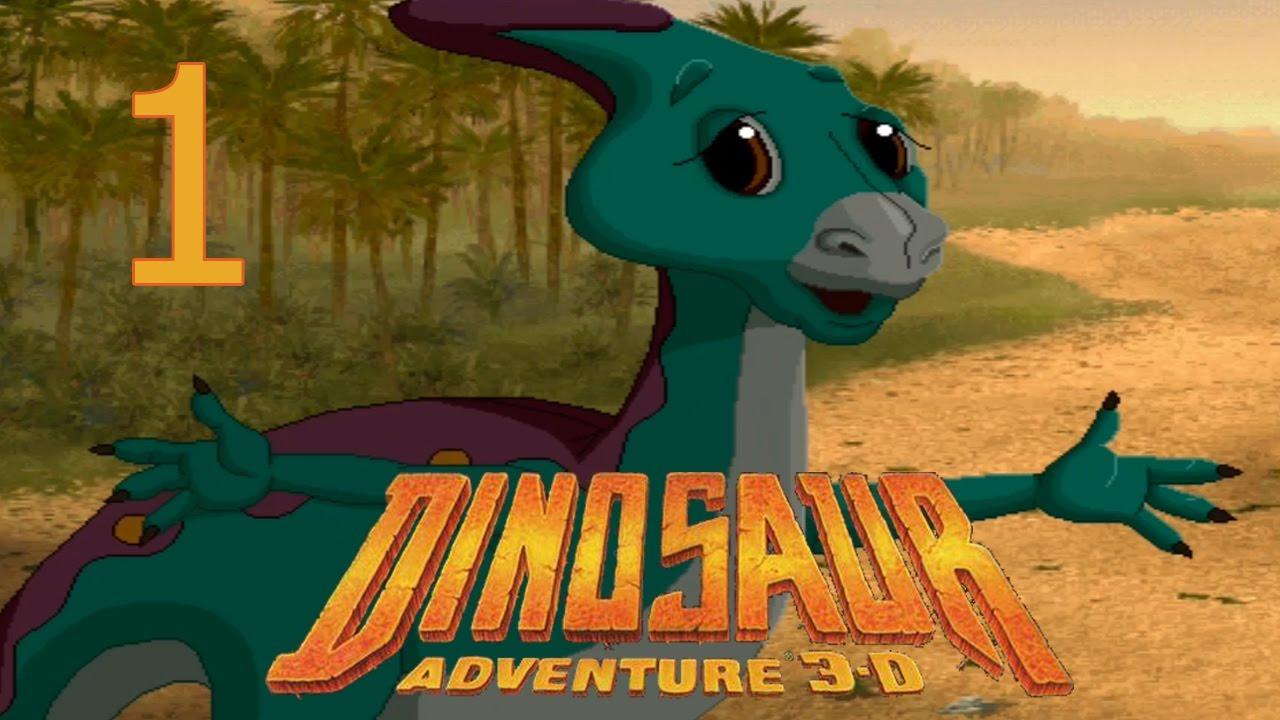 Dinosaur adventure 3d game