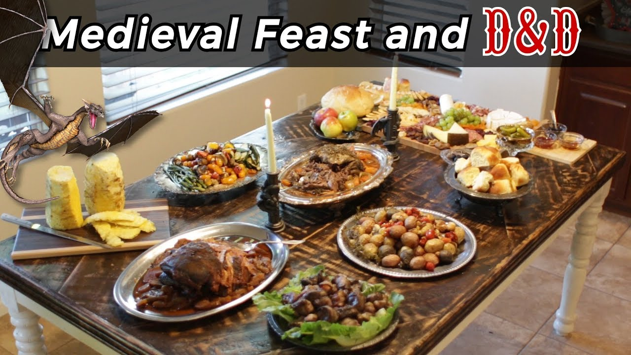 5th Annual Medieval Feast and Dungeons and Dragons Weekend