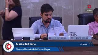 Sessão Ordinária - 07.03.19