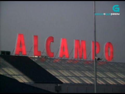 Inauguración do centro comercial Alcampo de Ferrol