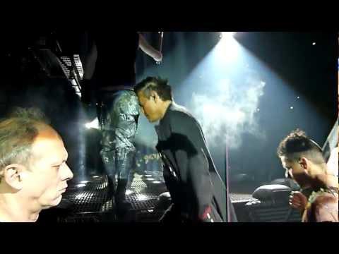 Rammstein Strasbourg 01/12/2011 Sonne+ intro