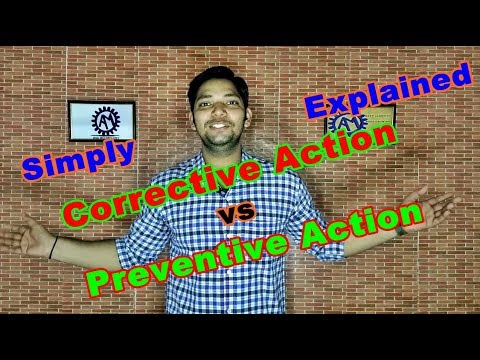 Corrective action and preventive action fdating