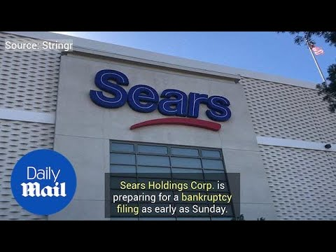 Sears Company Prepares For Bankruptcy As Stores Start Closing