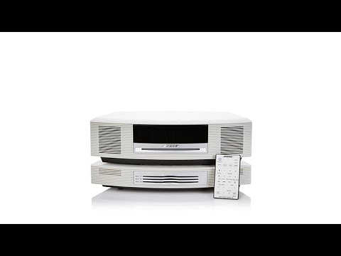 Bose Sound System >> Bose Wave Music System III with MultiCD Changer - YouTube