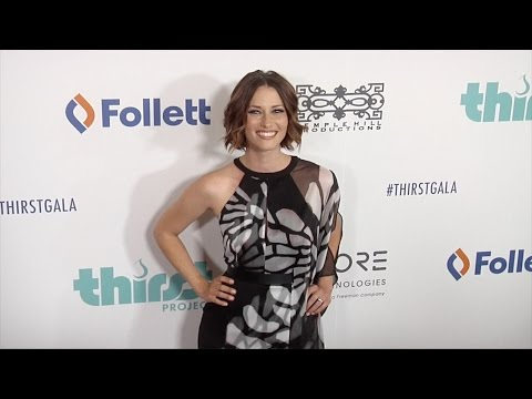 Chyler Leigh & Nathan West  6th Annual Thirst Gala Red Carpet