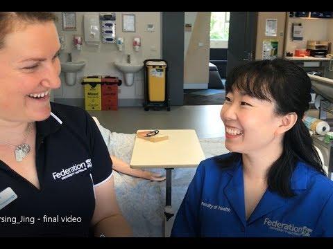 FedUni Nursing Student Testimonial - Jing